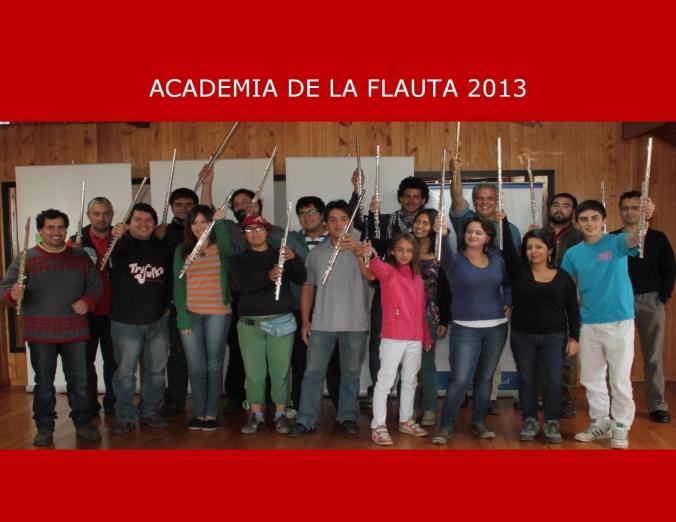 I Academia de la Flauta Chiloé 2013