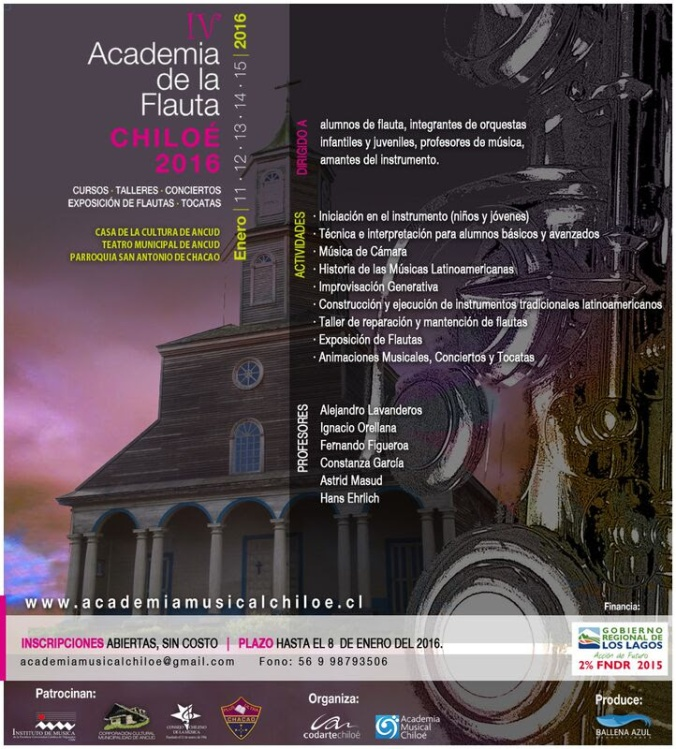 IV Academia de la Flauta Chiloé